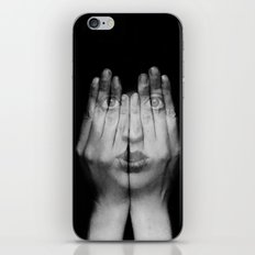 I Can See Through You iPhone & iPod Skin