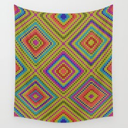 hang on to rhomb self Wall Tapestry