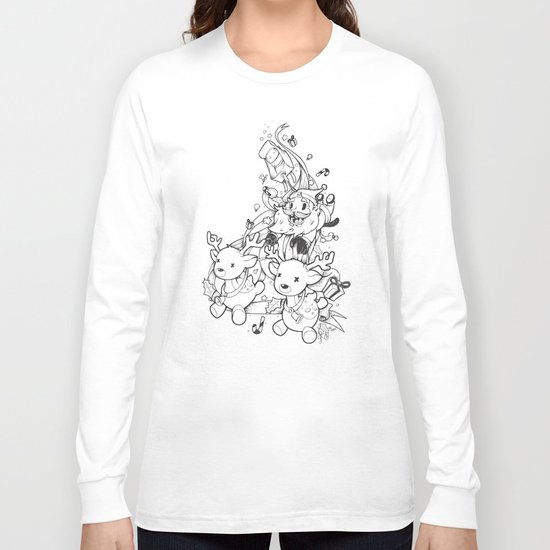 Santa Claus is coming Long Sleeve T-shirt