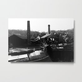 Mikhin Photography - Home of the Peaky Blinders Metal Print