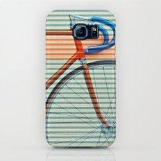 Standard Striped Bike Slim Case Galaxy S7