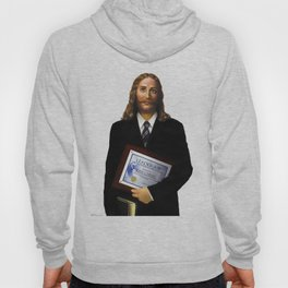 """JESUS      """"The Planet Earth Awards, Beyond Superstition"""" Hoody"""