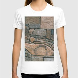 pieces of wood T-shirt