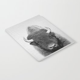 Buffalo - Black & White Notebook