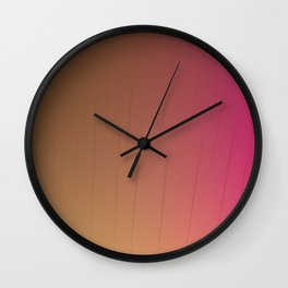 design lines pinks Wall Clock