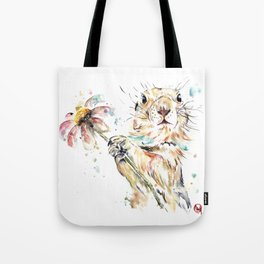 Gopher Colorful Watercolor Painting Tote Bag