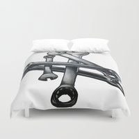 tool Duvet Covers featuring Tool by LewisLeathers