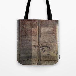 OLD DOOR 01 Tote Bag