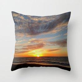 West Oz Sunset Throw Pillow
