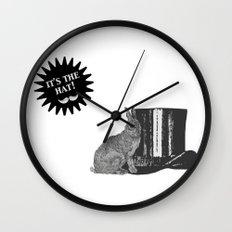 magic rabbit Wall Clock