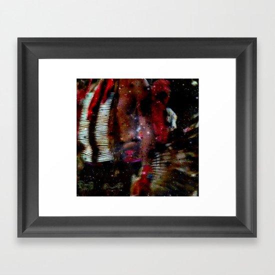 Native Vision Framed Art Print
