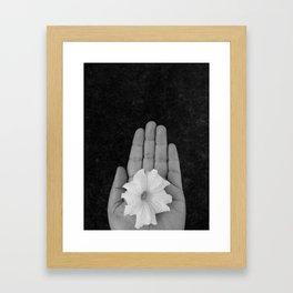 Flower of the Soul Framed Art Print