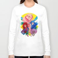 jem Long Sleeve T-shirts featuring Jem and the Holograms by Megan Mars