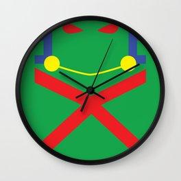 Martian Manhunter Minimalist Wall Clock