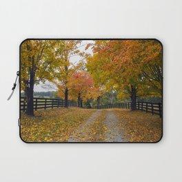 Autumn Driveway Laptop Sleeve