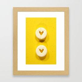 Yellow Valium Framed Art Print