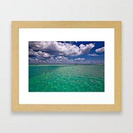 Caladesi Island Framed Art Print