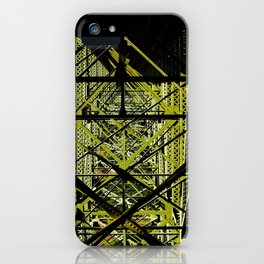 Industrial Pattern iPhone Case