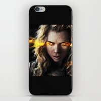 bad wolf iPhone & iPod Skins featuring Bad Wolf by Westling