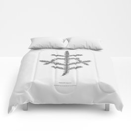 Spruce twig Comforters