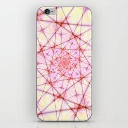 Neural Network Spiral iPhone Skin