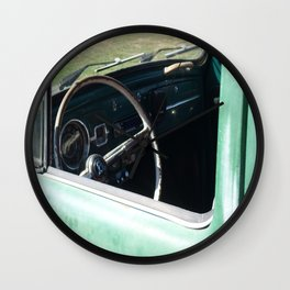 Inside My Ride Wall Clock