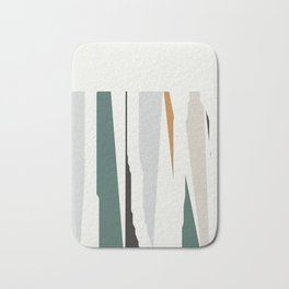 Pastel Trees Bath Mat