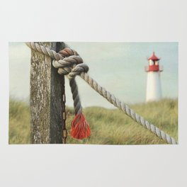 To the Lighthouse Rug