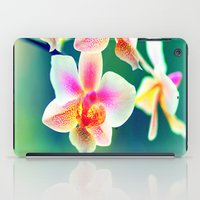 orchid iPad Cases featuring orchid by haroulita