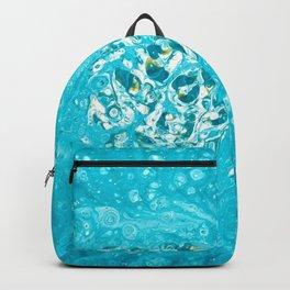 Teal Burst Backpack