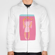 rabbits play with their food Hoody