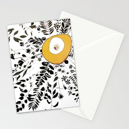 Earth Abstract Stationery Cards