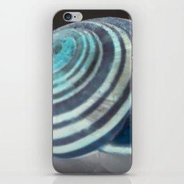 Glowing Snail iPhone Skin
