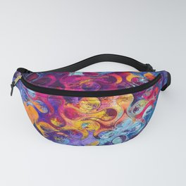 Abstract Colorful Geometrical Artwork Fanny Pack