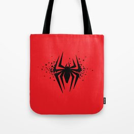 Square Heroes - Spider Tote Bag