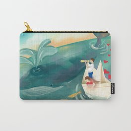 Adventures at Sea Carry-All Pouch