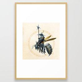 Royal Wasp Guard Framed Art Print