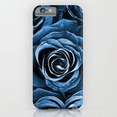 Rose Bouquet in Blue iPhone 6s Slim Case