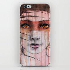 Amber Eyes iPhone Skin