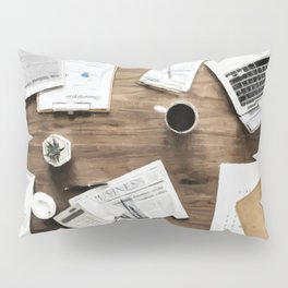 Business Work Table Pillow Sham