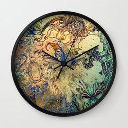 Mix Day Wall Clock