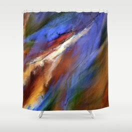 The Color of Wind Digital Painting Shower Curtain