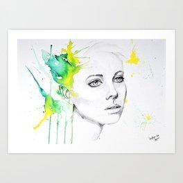 citric Art Print
