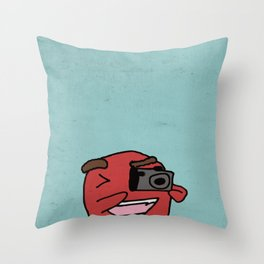 CameraMan Throw Pillow