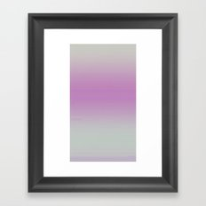 Pink Gradient Framed Art Print