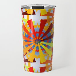 colorful gear wheels Travel Mug