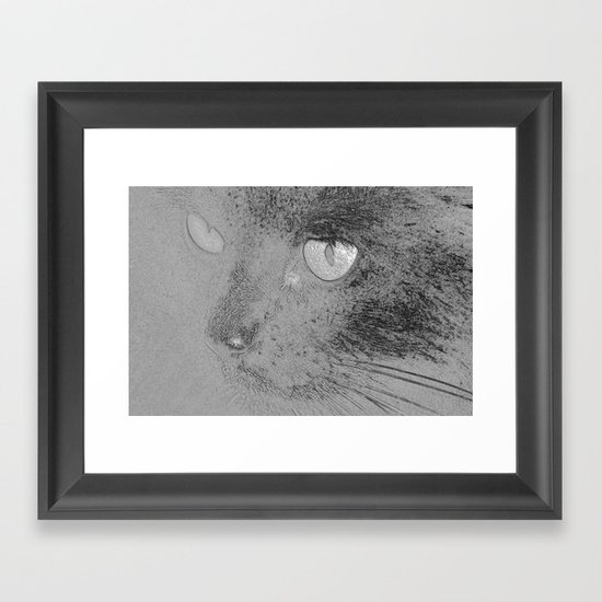 Mowsers! Framed Art Print