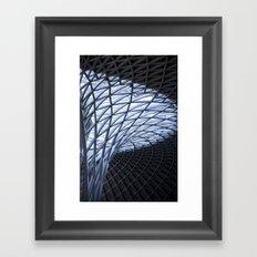 King's Cross, London Framed Art Print