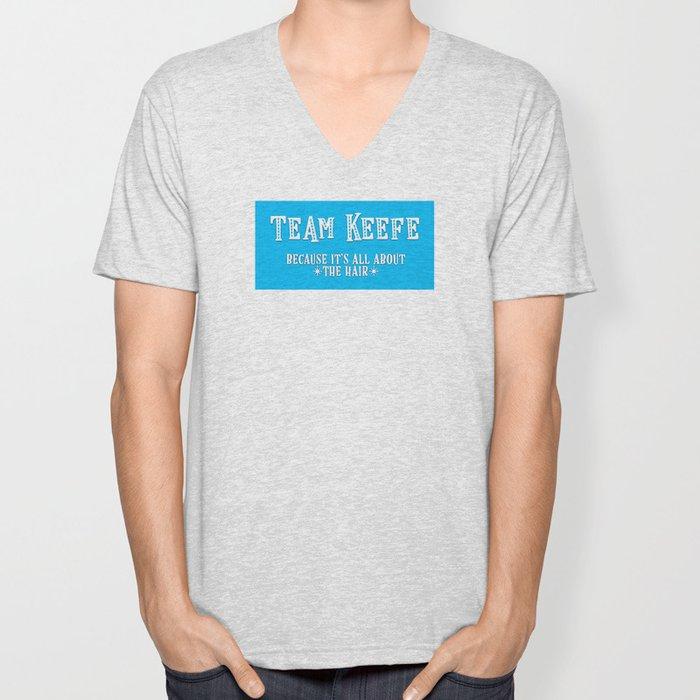 Team Keefe Unisex V-Neck