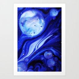 Liquid 1 Art Print